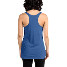 Load image into Gallery viewer, Movie The Food -Scone Alone 2 Women's Racerback Tank Top - Vintage Royal - Model Back