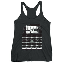 Load image into Gallery viewer, Movie The Food - Creature From The Black Macaroon Women's Racerback Tank Top - Vintage Black