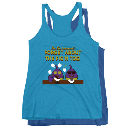 Movie The Food - The Fig Lebowski Women's Racerback Tank Top