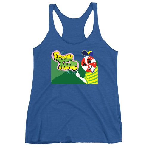 Movie The Food - The Fresh Mints Of Bel-Air Women's Racerback Tank Top - Vintage Royal
