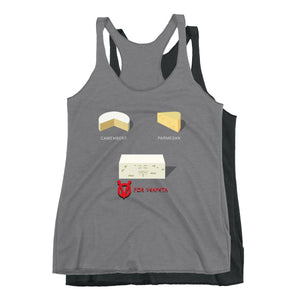 Movie The Food - V For Venfeta Women's Racerback Tank Top