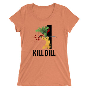 Movie The Food - Kill Dill Women's T-Shirt - Orange Triblend