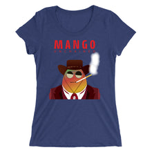 Load image into Gallery viewer, Movie The Food - Mango Unchained Women's T-Shirt - Navy Triblend
