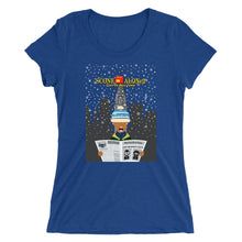 Load image into Gallery viewer, Movie The Food - Scone Alone 2 Women's T-Shirt - True Royal Triblend