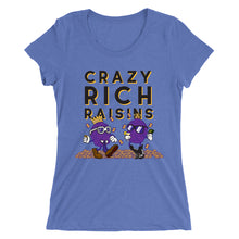 Load image into Gallery viewer, Movie The Food - Crazy Rich Raisins Women's T-Shirt - Blue Triblend