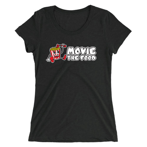 Movie The Food - Logo Women's T-Shirt - Charcoal-black Triblend