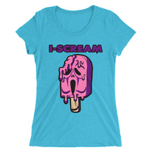 Load image into Gallery viewer, Movie The Food - I-Scream Women's T-Shirt - Aqua Triblend