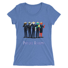 Load image into Gallery viewer, Movie The Food - Pholice Academy Women's T-Shirt - Blue Triblend