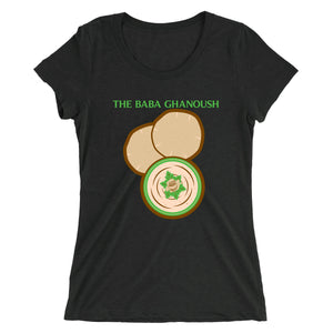 Movie The Food - The Baba Ghanoush Women's T-Shirt - Charcoal-black Triblend