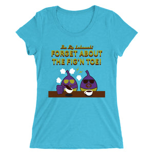Movie The Food - The Fig Lebowski Women's T-Shirt - Aqua Triblend
