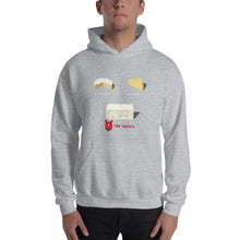 Load image into Gallery viewer, Movie The Food - V For Venfeta Hoodie - Heather Grey - Model Front