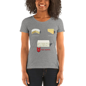 Movie The Food - V For Venfeta Women's T-Shirt - Grey Triblend - Model Front