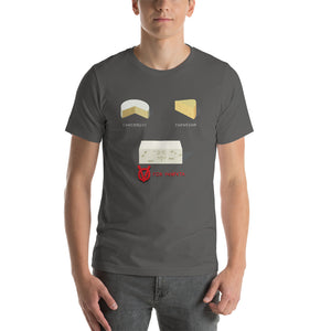 Movie The Food - V For Venfeta T-Shirt - Asphalt - Model Front
