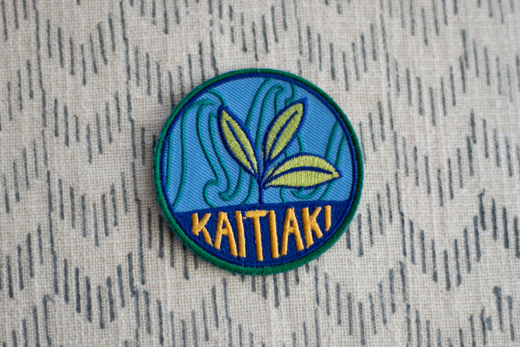 'Kaitiaki' Embroidered Patch