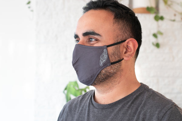 Face Mask - Charcoal Grey