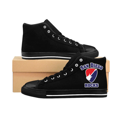 SDROCKS - Men's High-top Sneakers