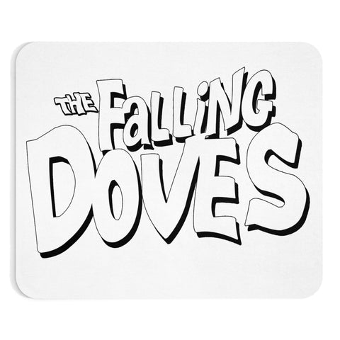 Falling Doves Mousepad