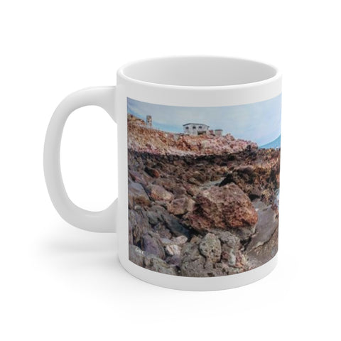 Copy of Hot Springs Pano Mug 2 -  White Ceramic Mug