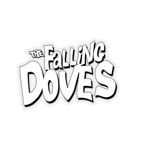 Falling Doves  - Kiss-Cut Stickers