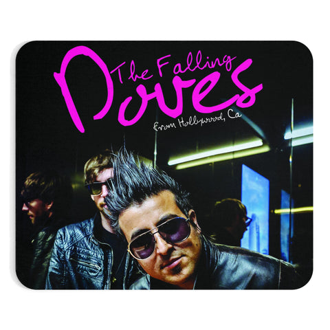 Falling Doves Mousepad 2