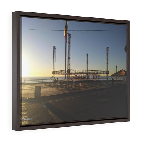 Goals - Horizontal Framed Premium Gallery Wrap Canvas