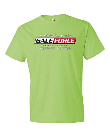 "Gale Force ""Music to the people"" Short sleeve t-shirt"