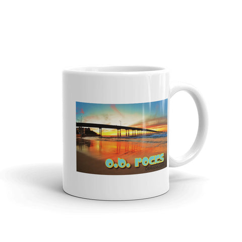 OB Sunset - Mug made in the USA