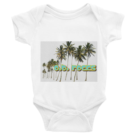 OB Parrot Rocks - Infant Bodysuit