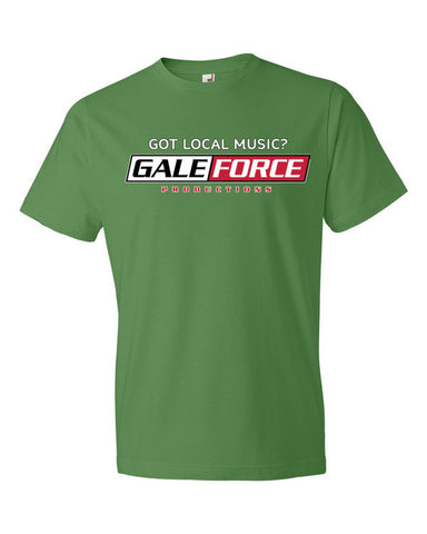 "Gale Force ""Got LOCAL Music"" Short sleeve t-shirt"