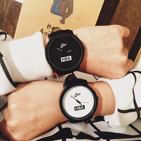 Fashion HBA Leather Watch