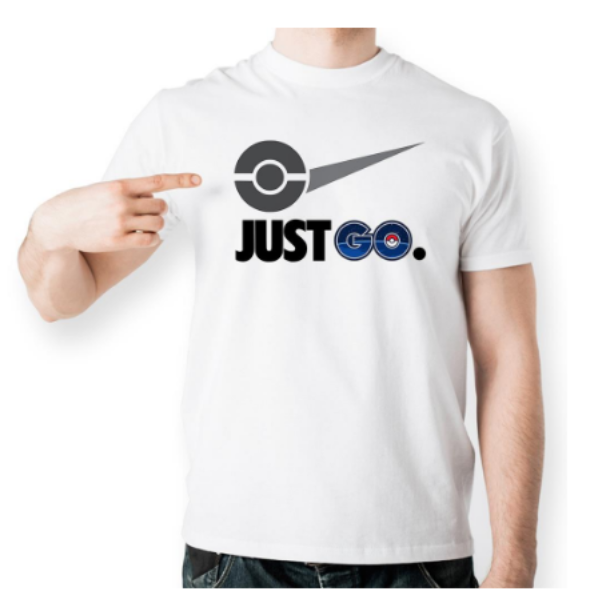 Pokemon GO T-Shirt JUST GO