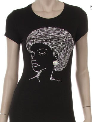 """Lady Soul"" Fitted Tee *clearance*"