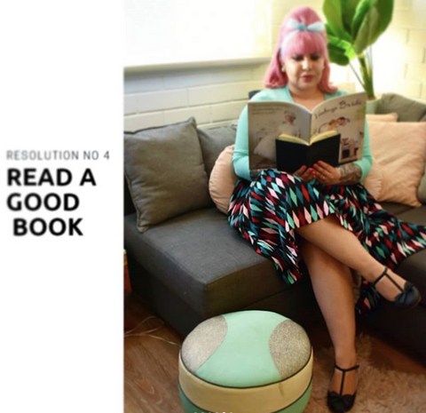 Read a Good Book - The Desi Pinup