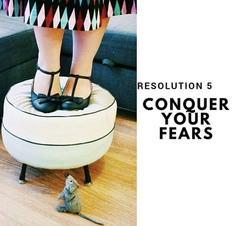 Conquer Your Fears - The Desi Pinup