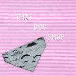 Collar Dog Bandana - Moustache-That Dog Shop