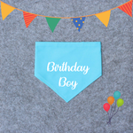 Birthday Dog Bandana - Birthday Girl/Birthday Boy