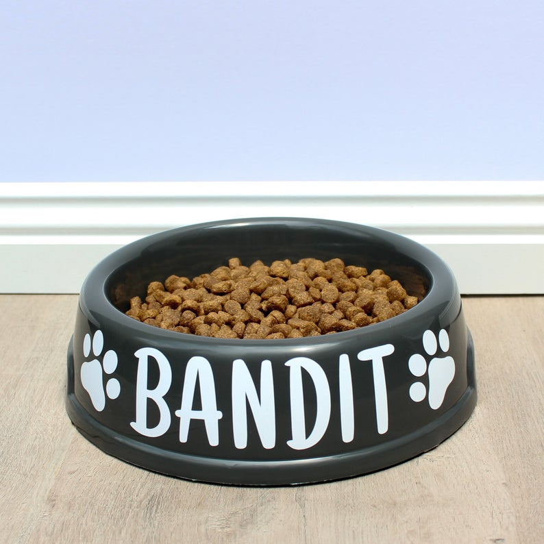 Personalised Dog Bowl - Plastic