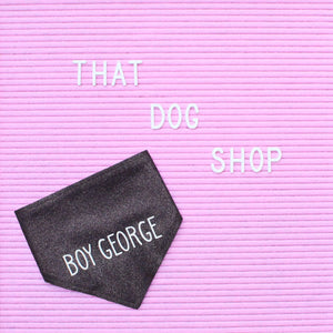 Dog Bandana - Sparkle Darling!-That Dog Shop