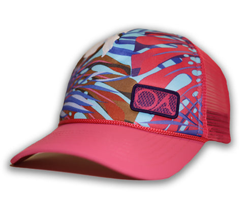 Prostaff Female Hibiscus Trucker Hat