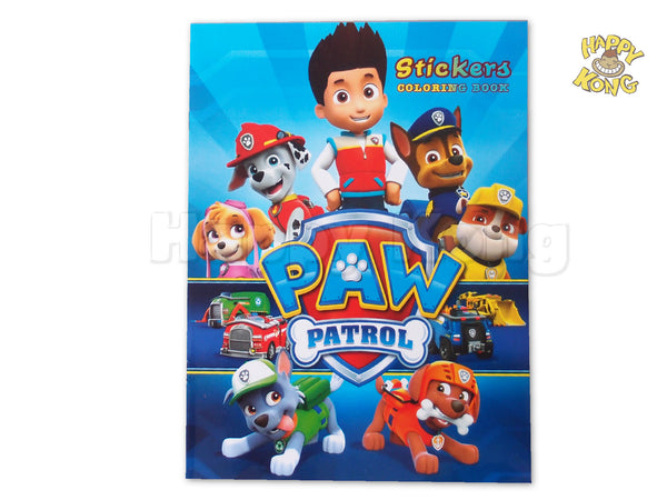 Paw Patrol Giant Coloring Pages : Giant coloring books for adults coloring pages