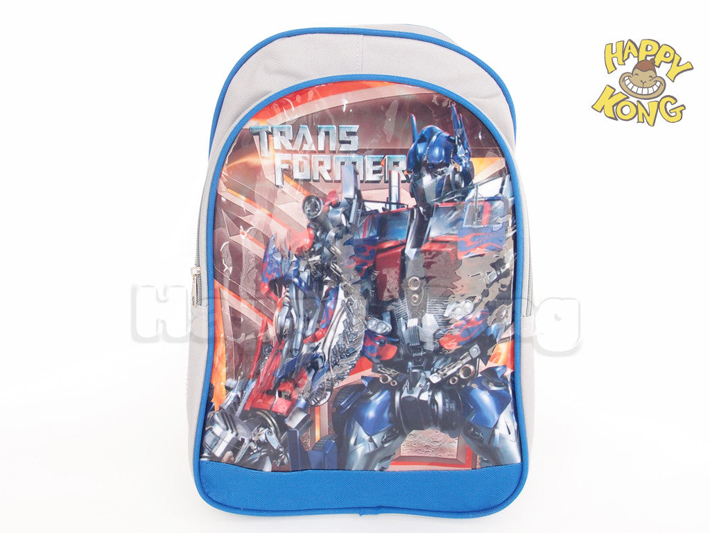 Transformer Kids Backpack School Bag Happy Kong Nz