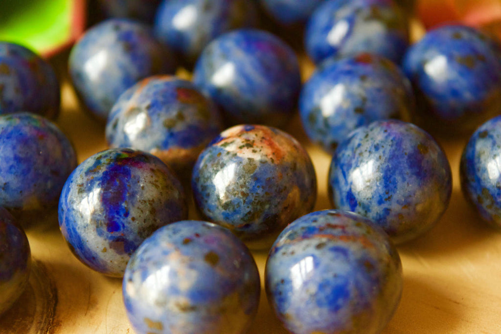 Small Sodalite Sphere Ball