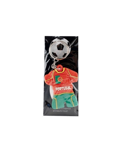 PORTUGAL SOCCER JERSEY KEYCHAIN