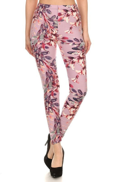 Regular Leggings~ Lavender Floral