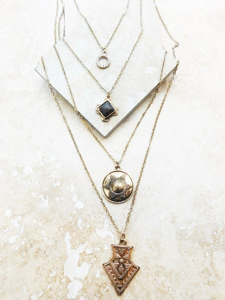 Georgetown Layered Necklace 2 options)