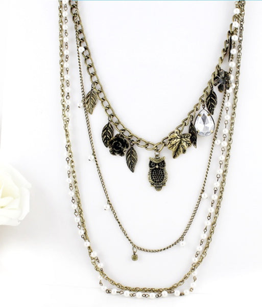 Antique Charms Necklace