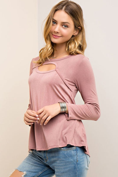 Meant For You Cutout Top