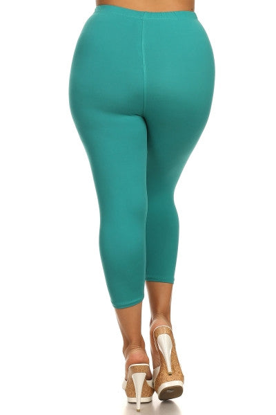 Curvy~ Capri Leggings (multiple leggings)