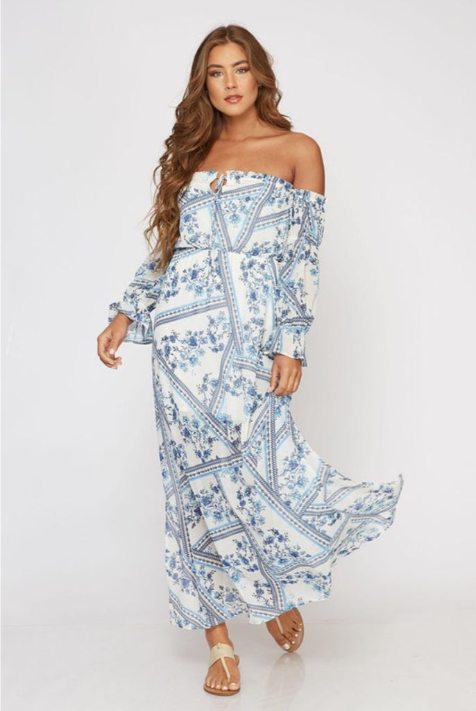 Singles You Up Maxi Dress
