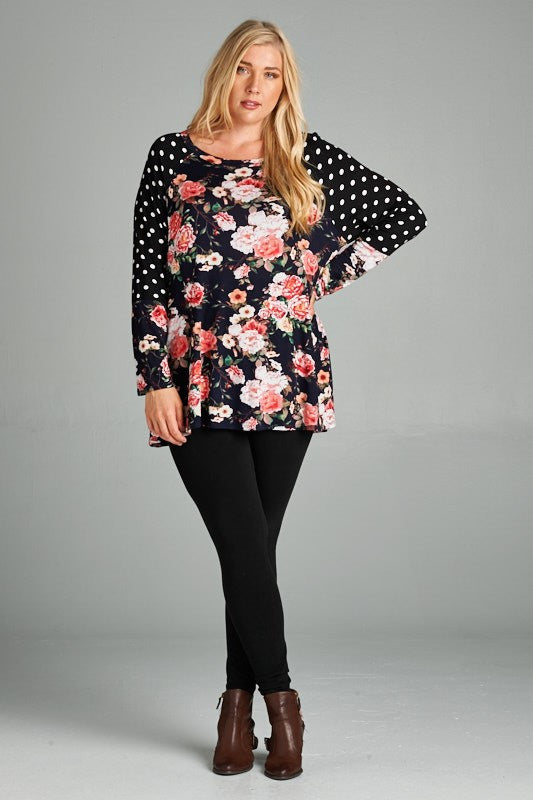 Curvy~ Couldn't Ask For More Floral